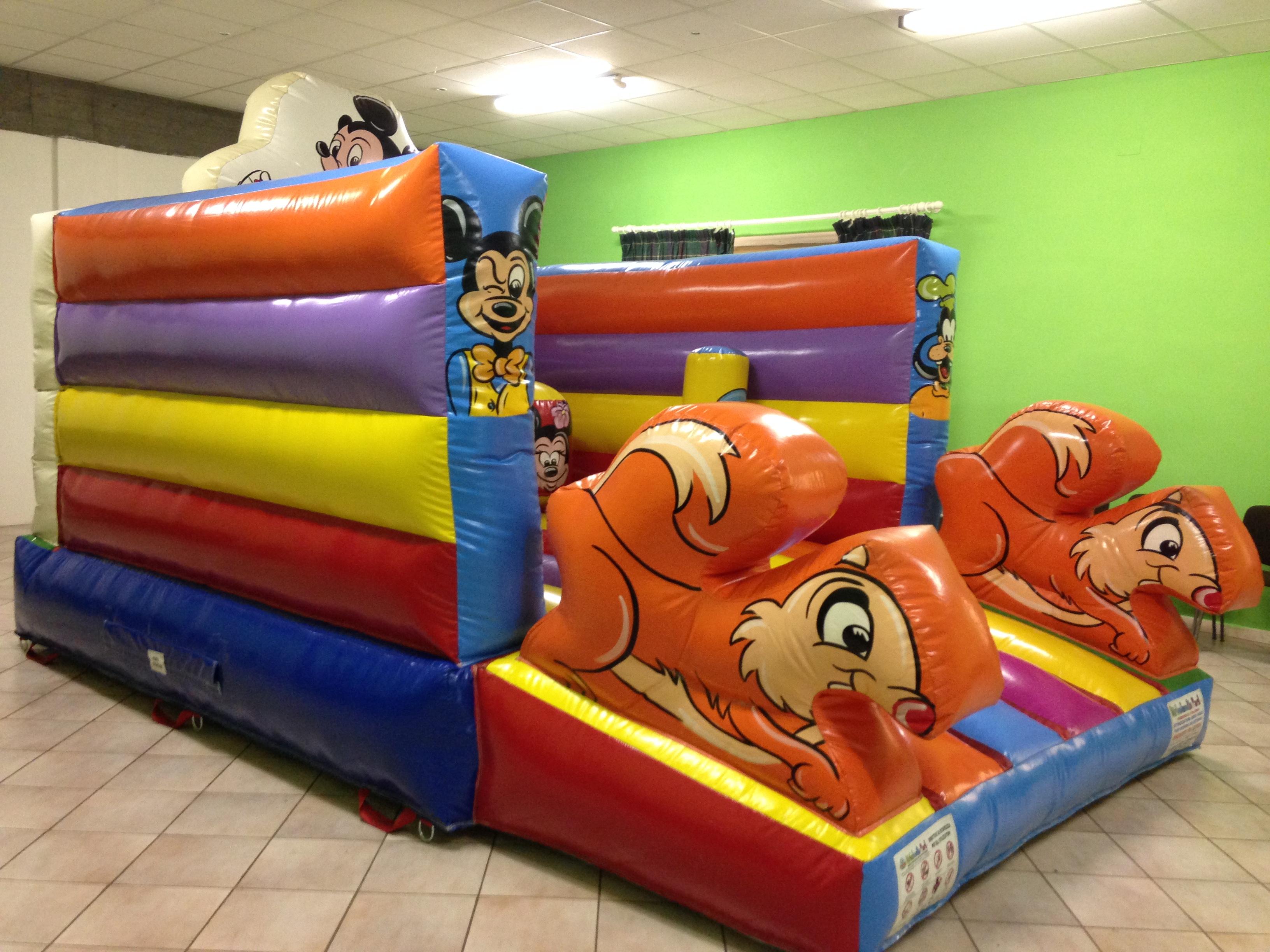 Noleggio gonfiabile bambini ad arezzo firenze siena e montevarchi animazione feste per - Casa gonfiabile per bambini ...