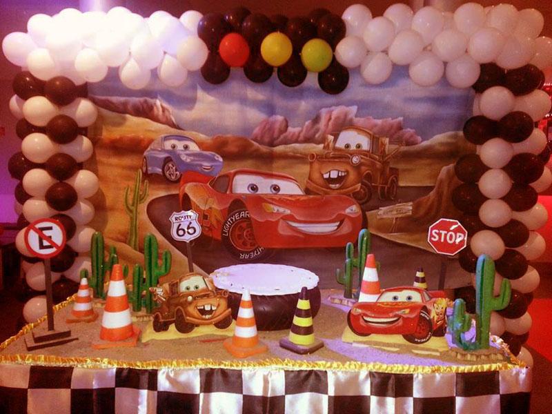 Allestimento per feste di compleanno bambini con