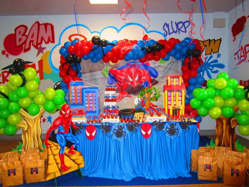 Tavolo Compleanno Bimbo : Allestimento per feste di compleanno per bambini con palloncini ad